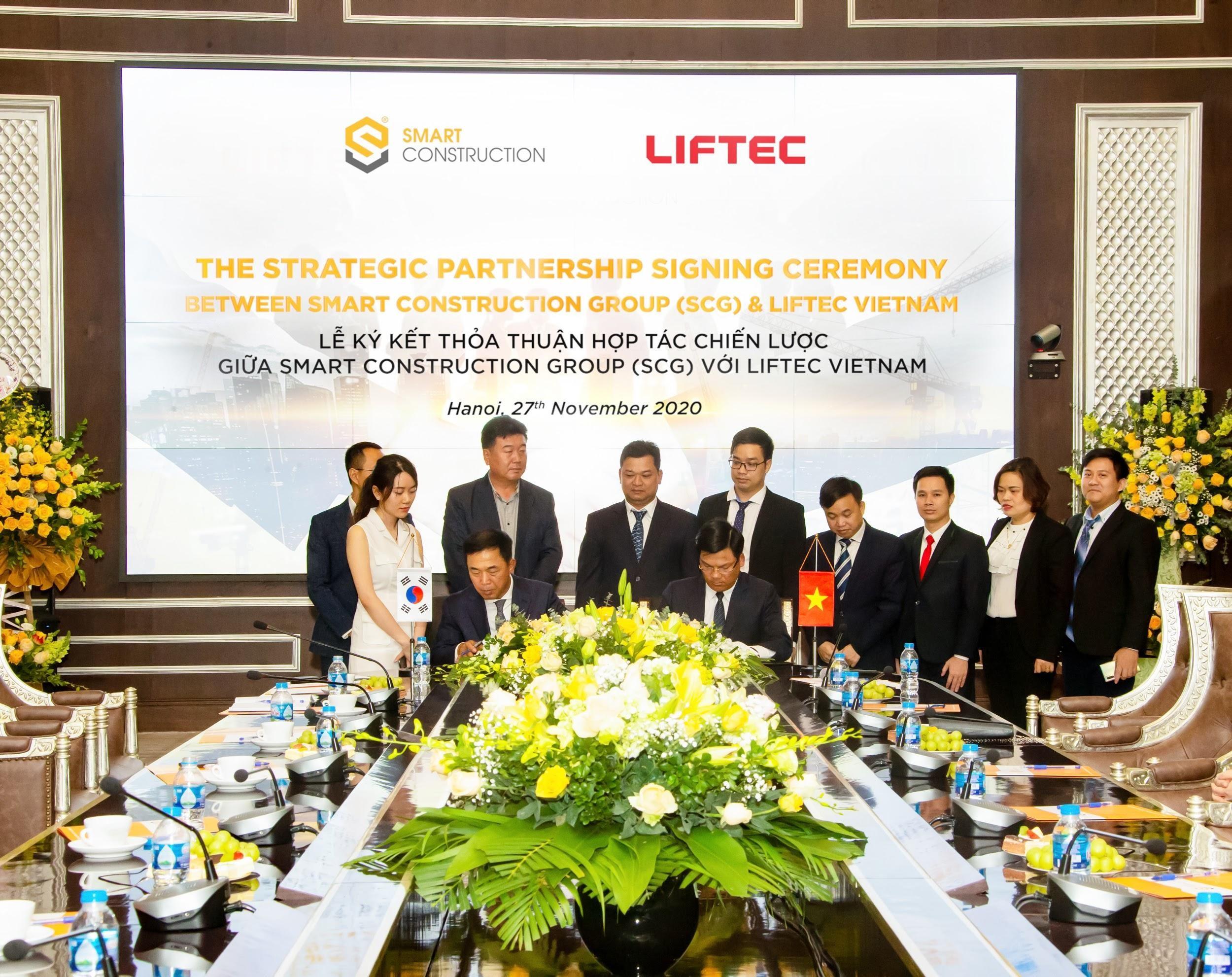 SCG ký hợp tác chiến lược với các đối tác Hàn Quốc 1