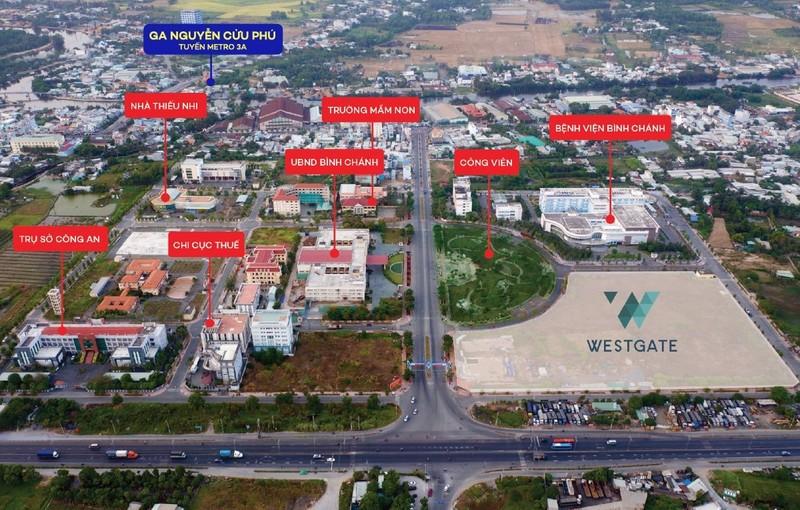 Đòn bẩy hạ tầng 'làm nóng' thị trường bất động sản khu Tây Sài Gòn 2