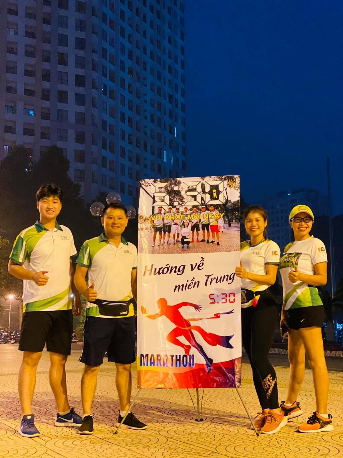 Cuộc thi chạy bộ 5h30 Marathon- ''Vì Miền Trung thân yêu'' 19