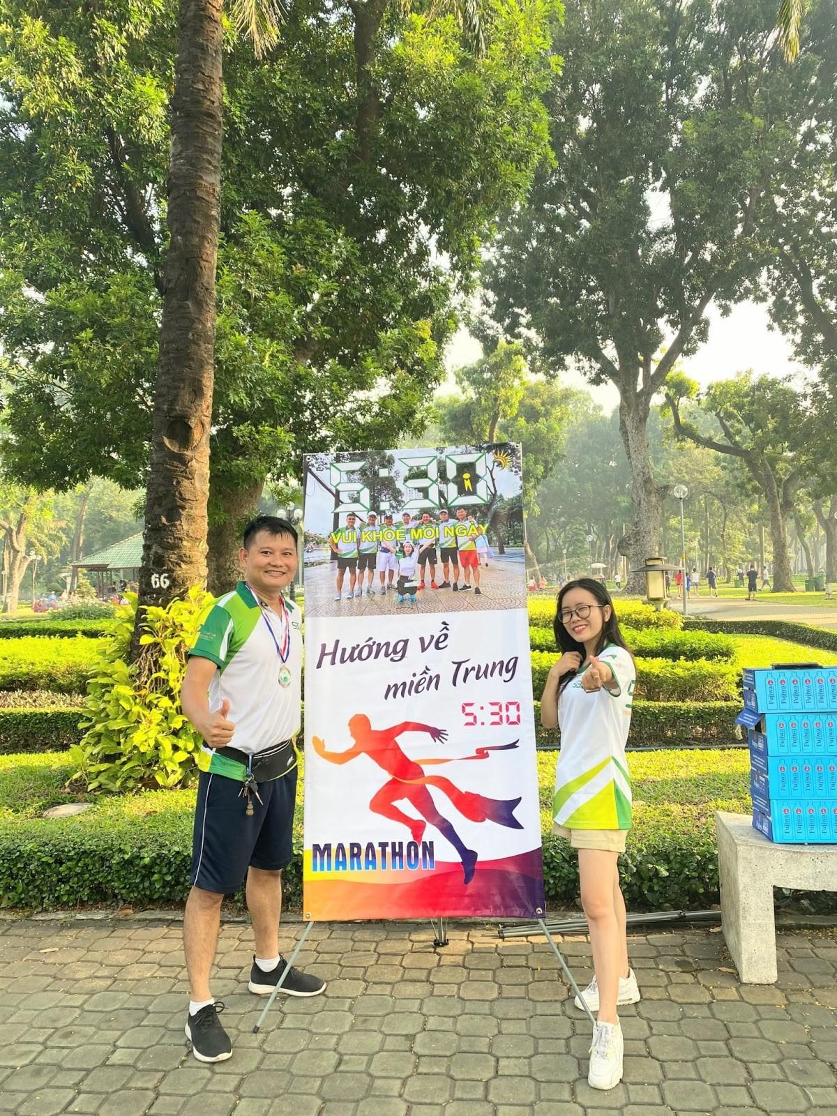 Cuộc thi chạy bộ 5h30 Marathon- ''Vì Miền Trung thân yêu'' 21