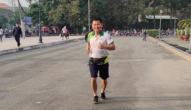 Cuộc thi chạy bộ 5h30 Marathon- ''Vì Miền Trung thân yêu'' 22