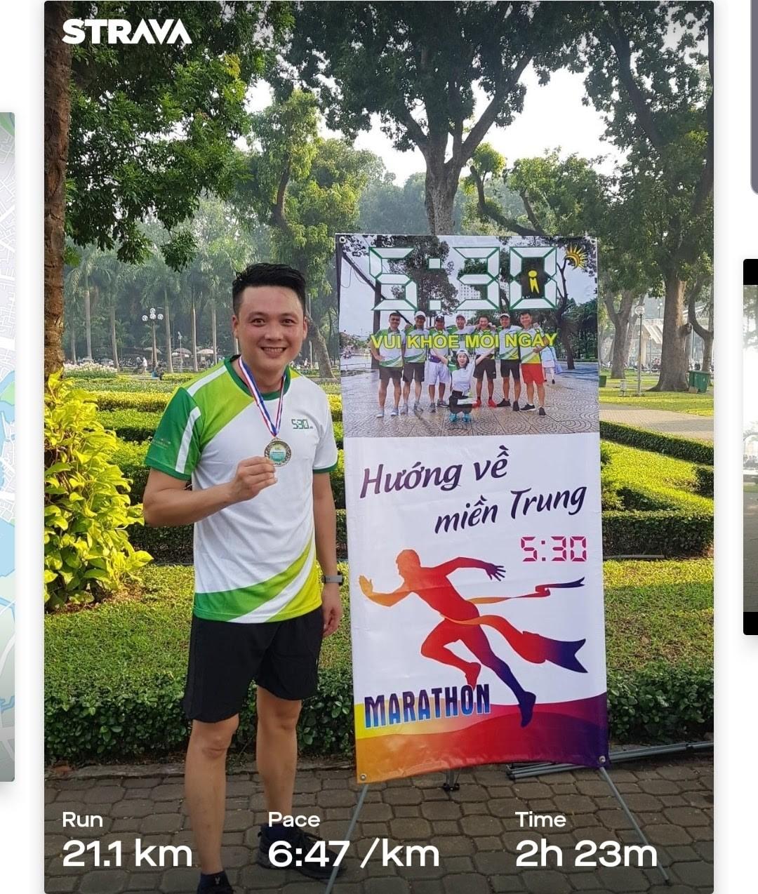 Cuộc thi chạy bộ 5h30 Marathon- ''Vì Miền Trung thân yêu'' 25