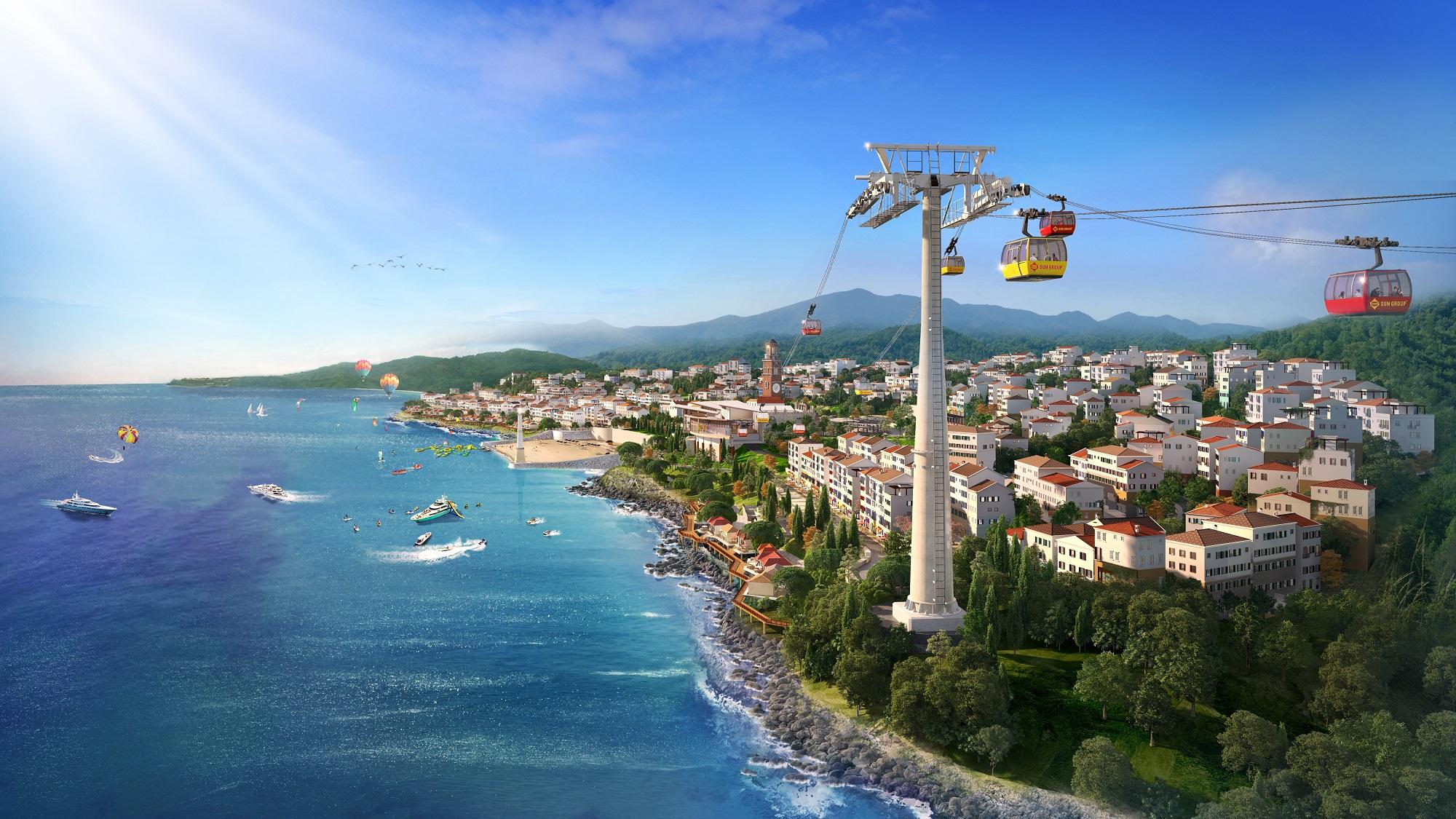 Nam đảo ngập tràn sức sống mới với những công trình mang phong cách Địa Trung Hải