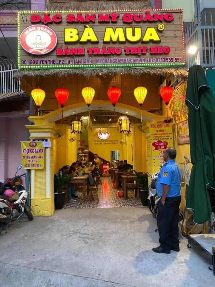 Mì Quảng Bà Mua – đệ nhất mì Quảng Đà Thành giữa lòng Sài Gòn 2