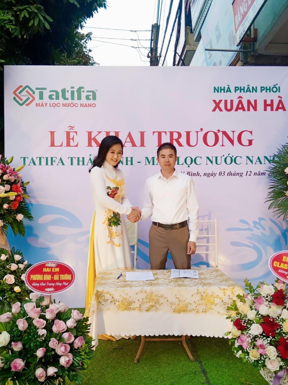 Thương hiệu máy lọc nước Nano Tatifa khai trương nhà phân phối tỉnh Thái Bình 3