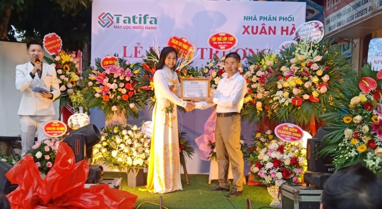 Thương hiệu máy lọc nước Nano Tatifa khai trương nhà phân phối tỉnh Thái Bình 4