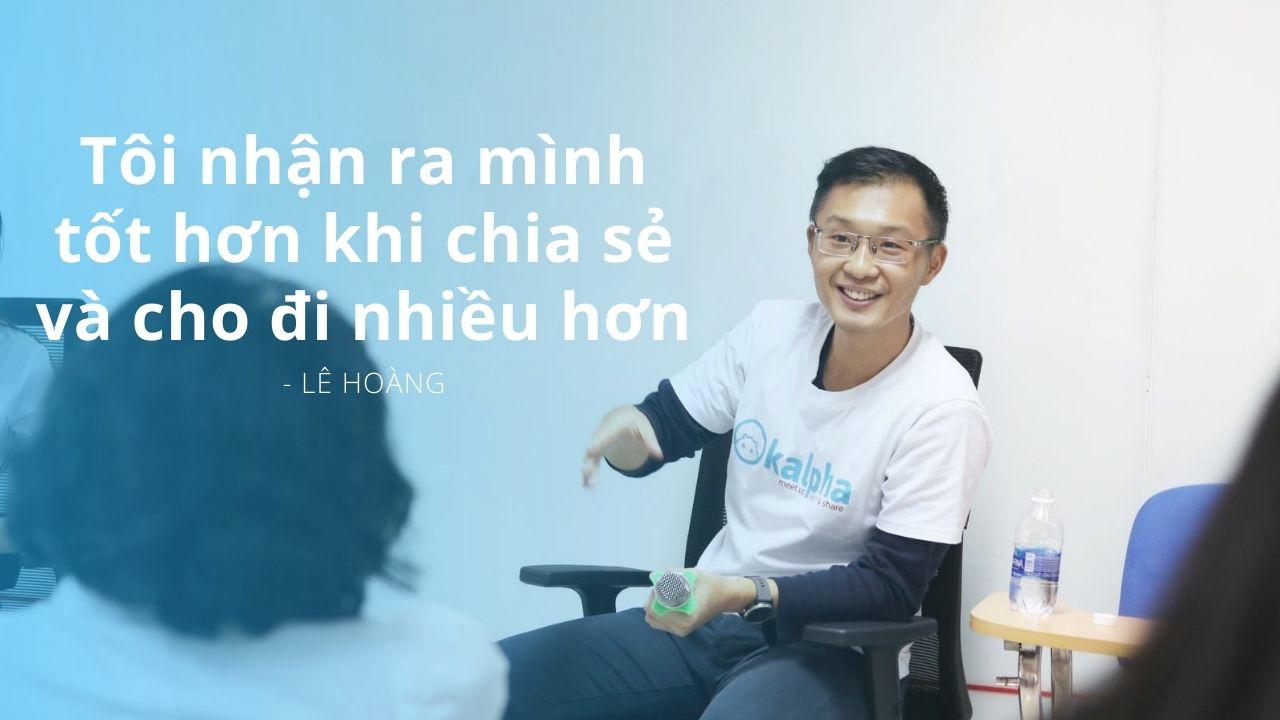 Giám đốc phát triển Kalpha: Từ trầm cảm đến lan toả văn hoá chia sẻ 6