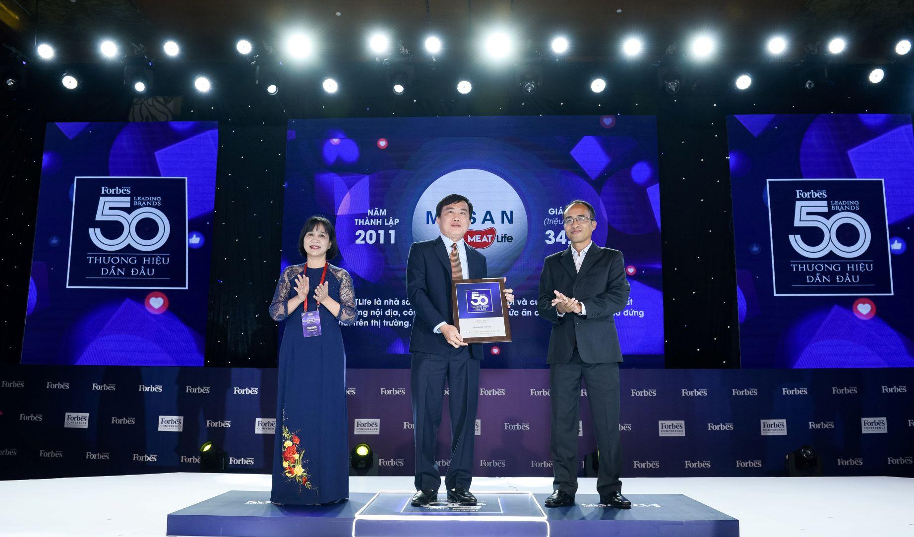 Forbes Vietnam bình chọn Masan MEATLife thuộc Top thương hiệu dẫn đầu