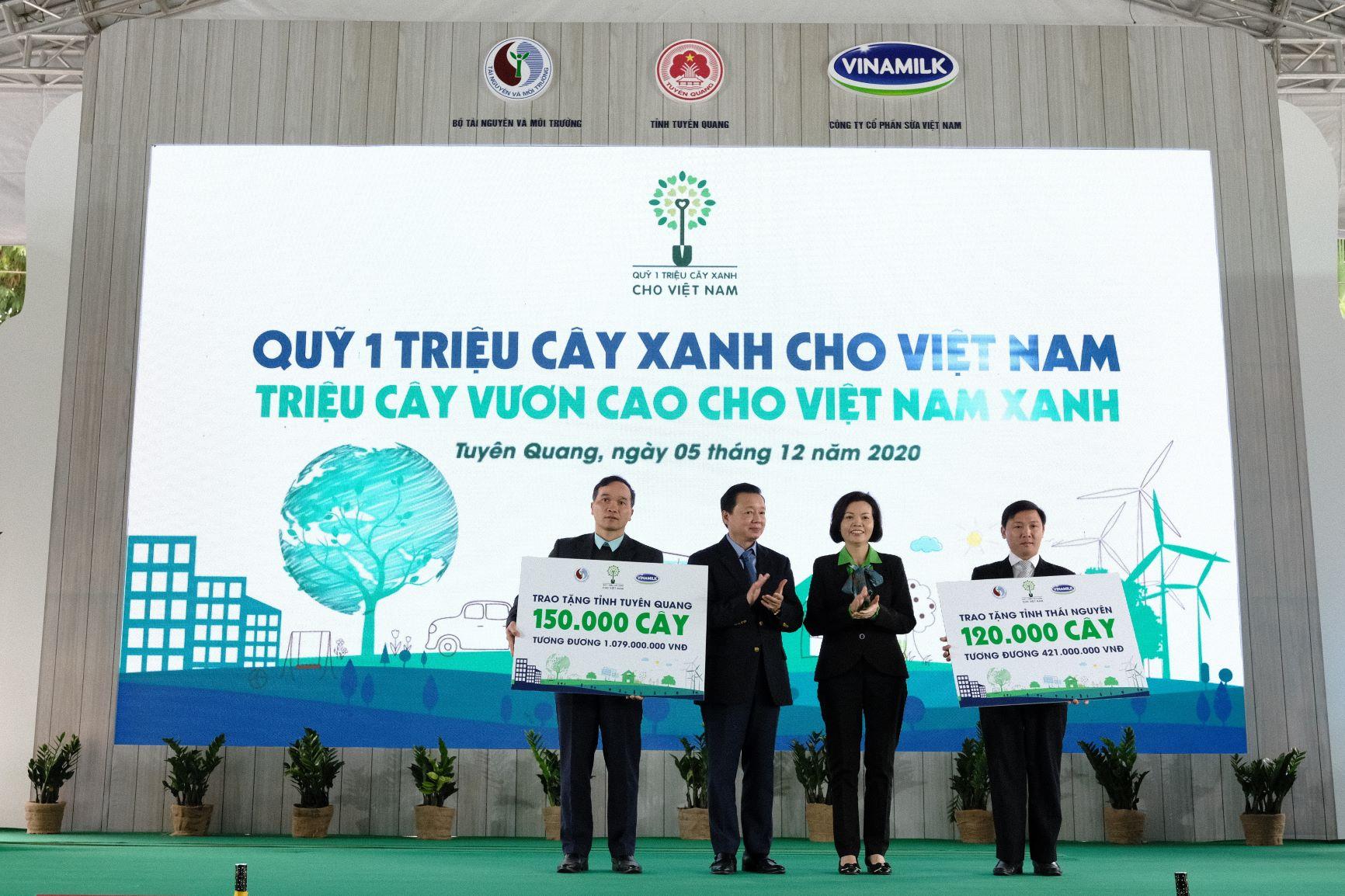 """Quỹ 1 triệu cây xanh cho Việt Nam của Vinamilk - Chương trình vì môi trường tạo được """"dấu ấn xanh"""" đặc biệt với cộng đồng 6"""