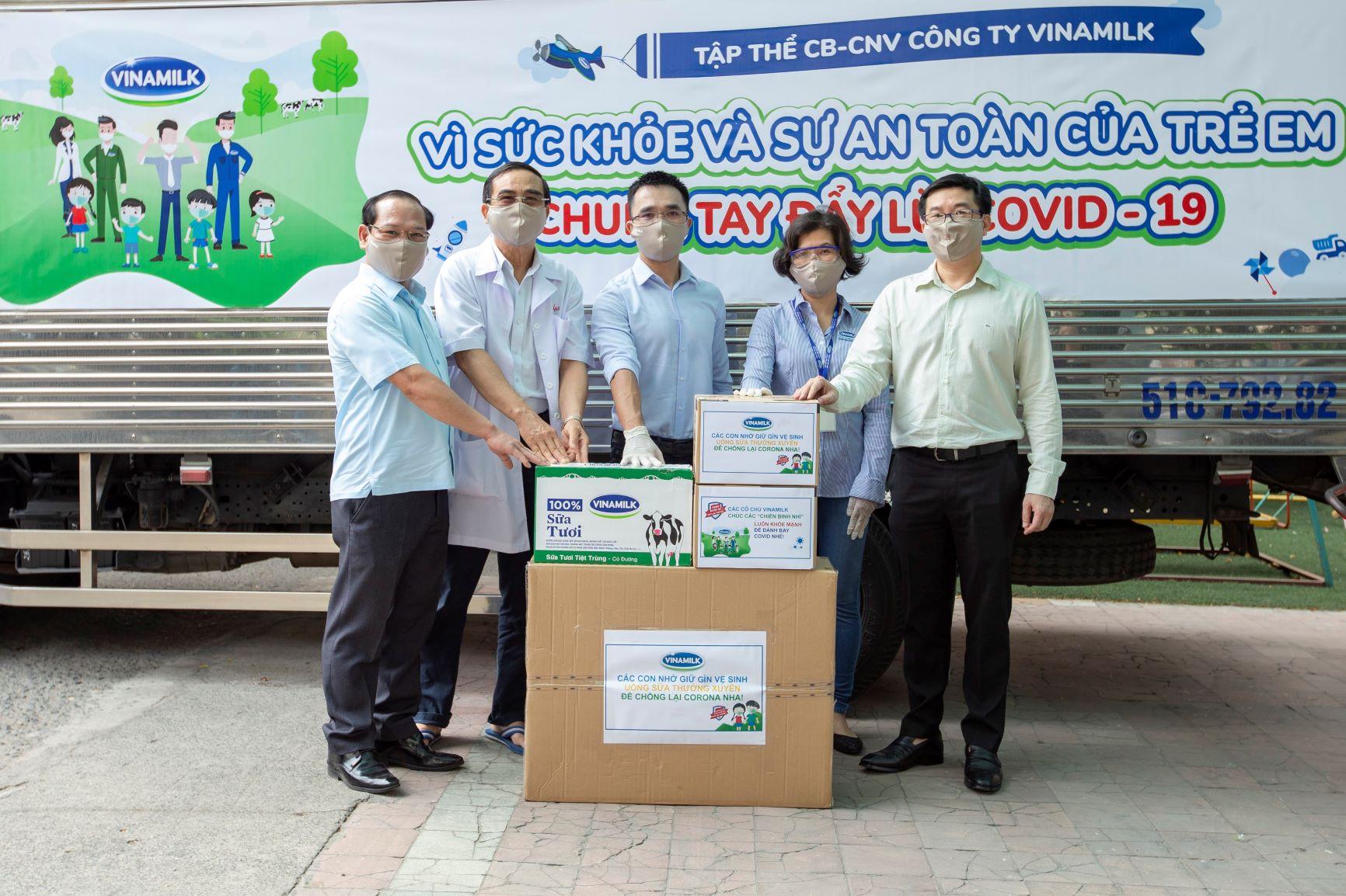 Vinamilk vững vàng vị trí dẫn đầu Top doanh nghiệp phát triển bền vững Việt Nam năm 2020 8