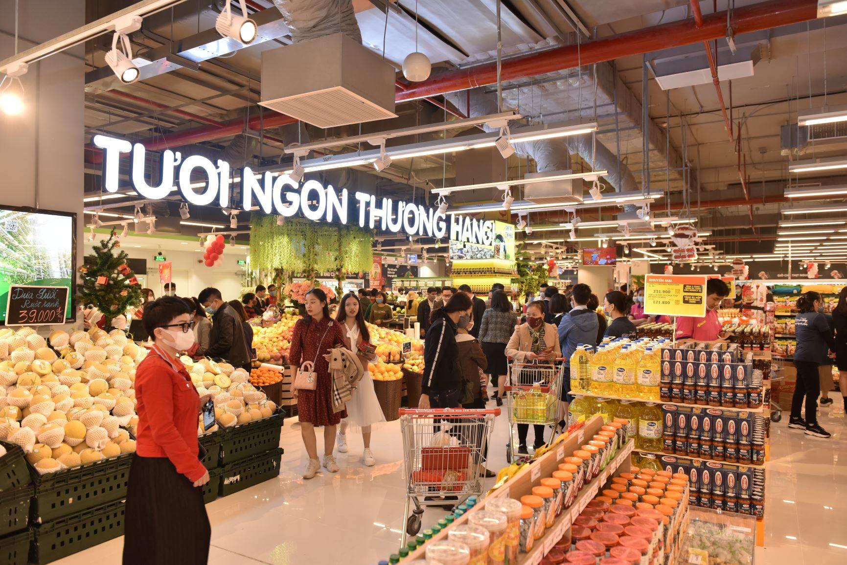 Khai trương siêu thị VinMart Ocean Park - Tươi ngon thượng hạng, khuyến mãi ngập tràn 2