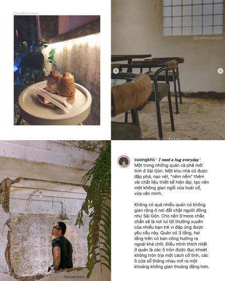 S'mores Saigon Caffè: Quán cà phê mới của những thứ đã cũ 2