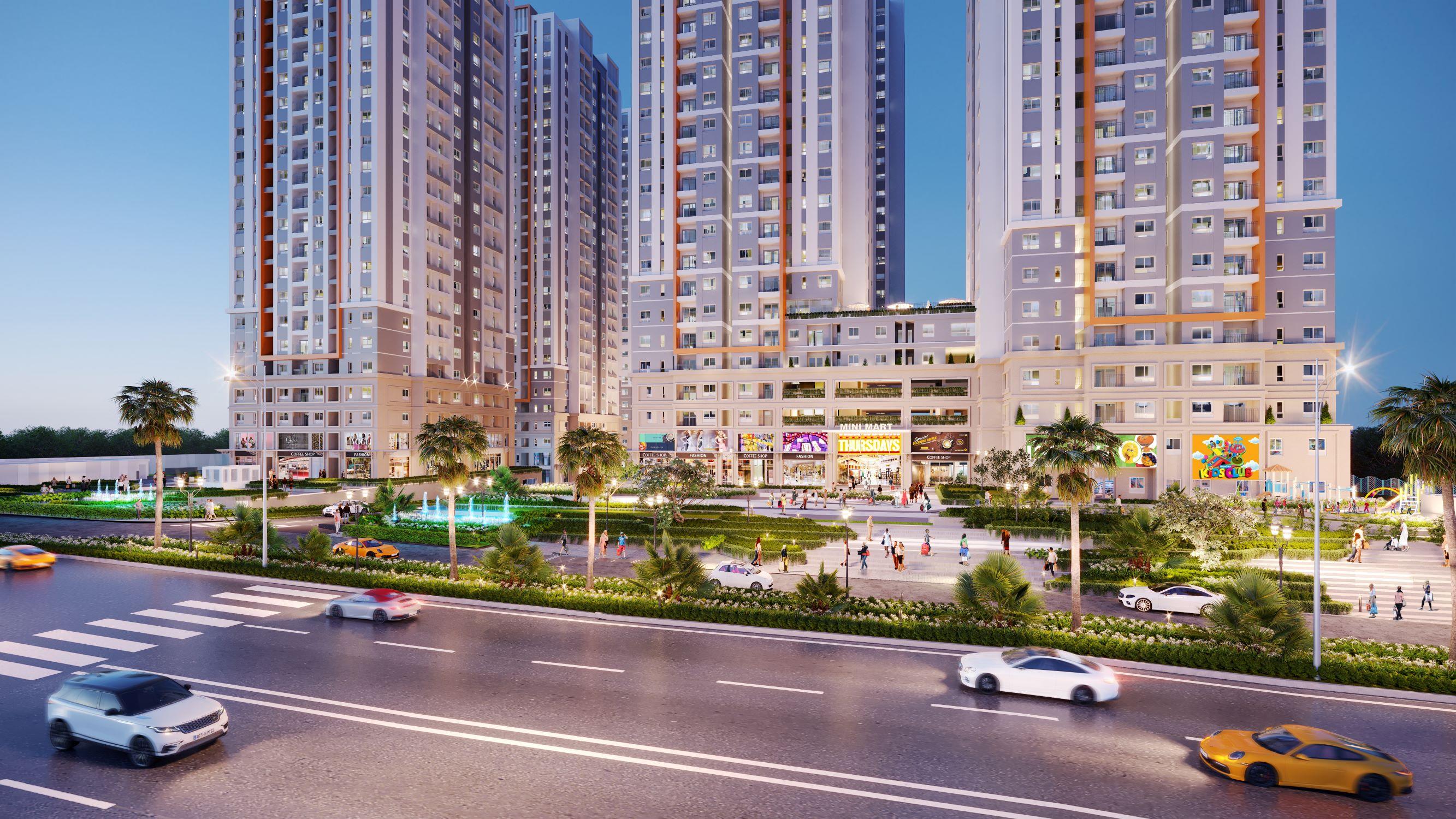 Sức hút bất động sản căn hộ tại Biên Hòa 2