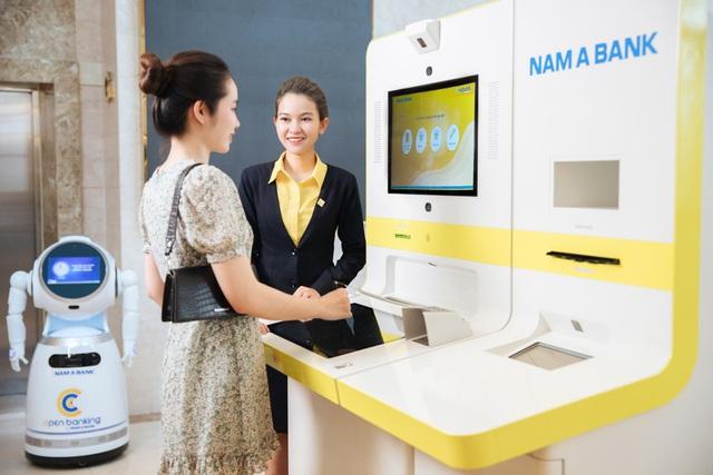 Con người và công nghệ là hai yếu tố quan trọng để Nam A Bank nâng tầm chất lượng dịch vụ