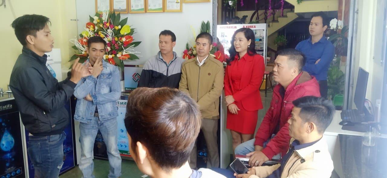 Thương hiệu máy lọc nước Nano Tatifa khai trương nhà phân phối tỉnh Thái Bình 8