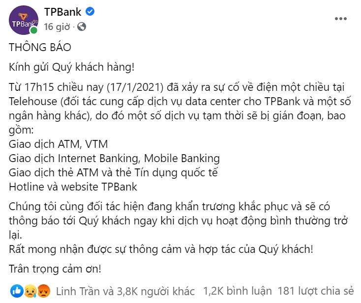 Lỗi hệ thống của các ngân hàng và thời đại 4.0 5