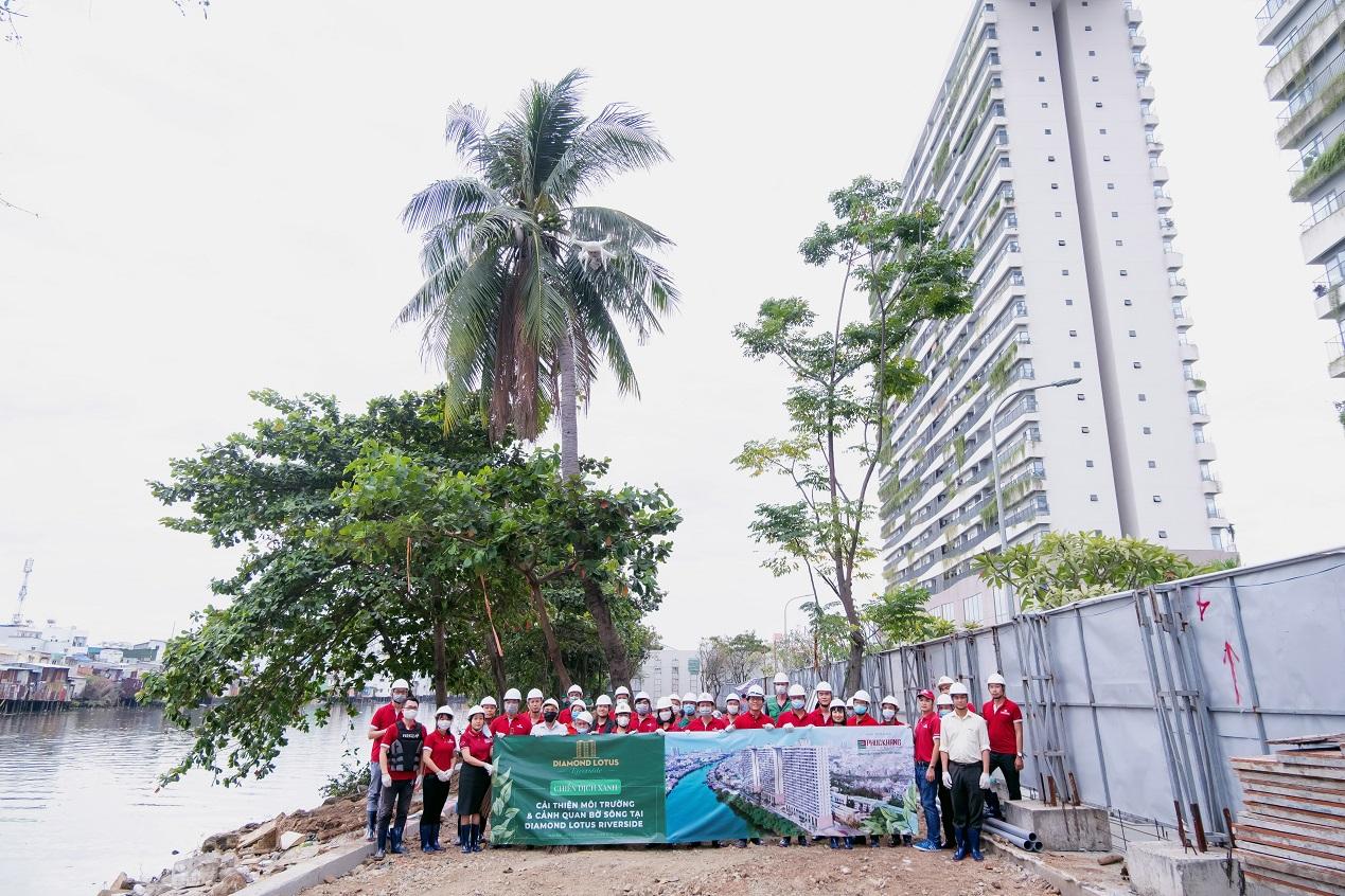 """Phúc Khang tổ chức workshop """"Công trình xanh và tiện ích Skypark"""" cho cư dân tại Diamond Lotus Riverside 6"""