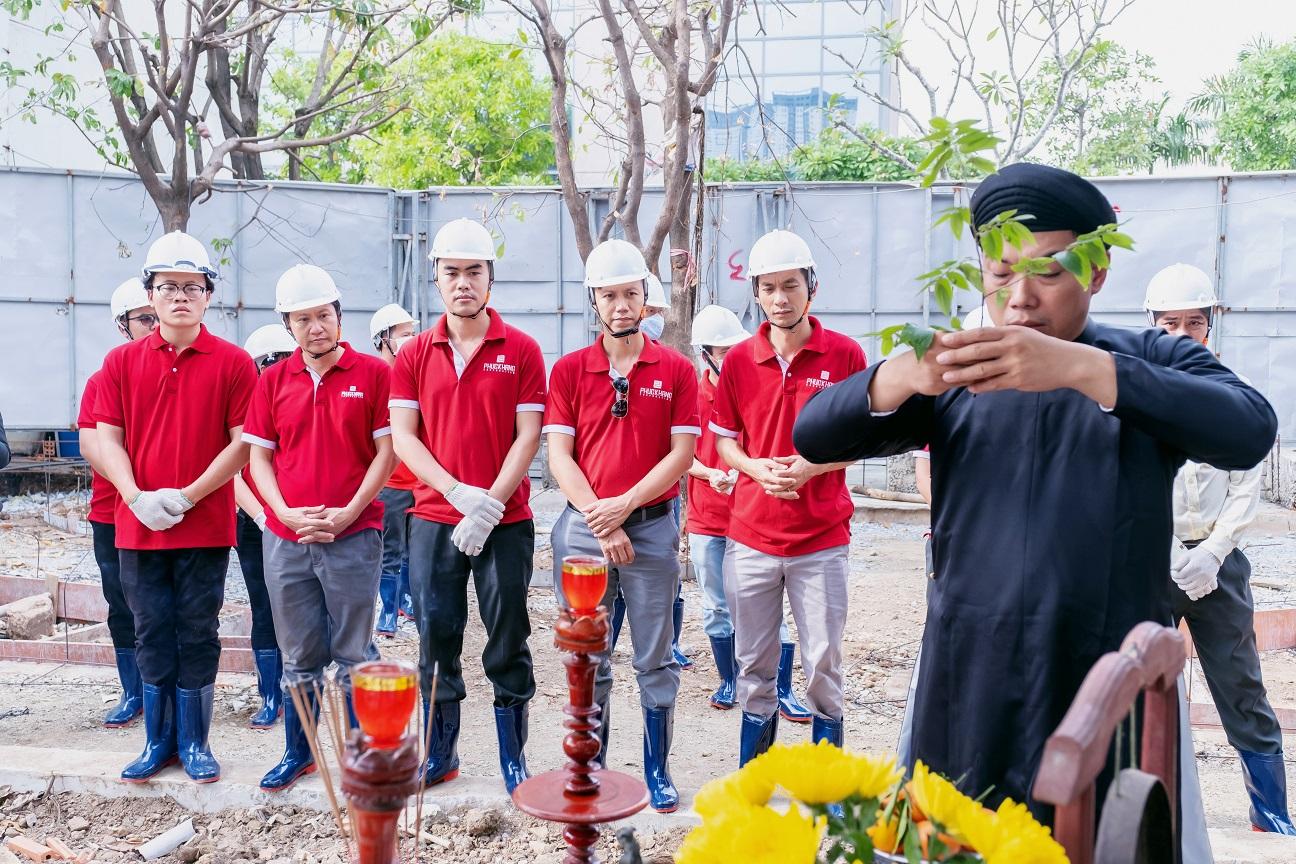 Phúc Khang ra quân Cải tạo môi trường và cảnh quan bờ sông tại dự án Diamond Lotus Riverside 3
