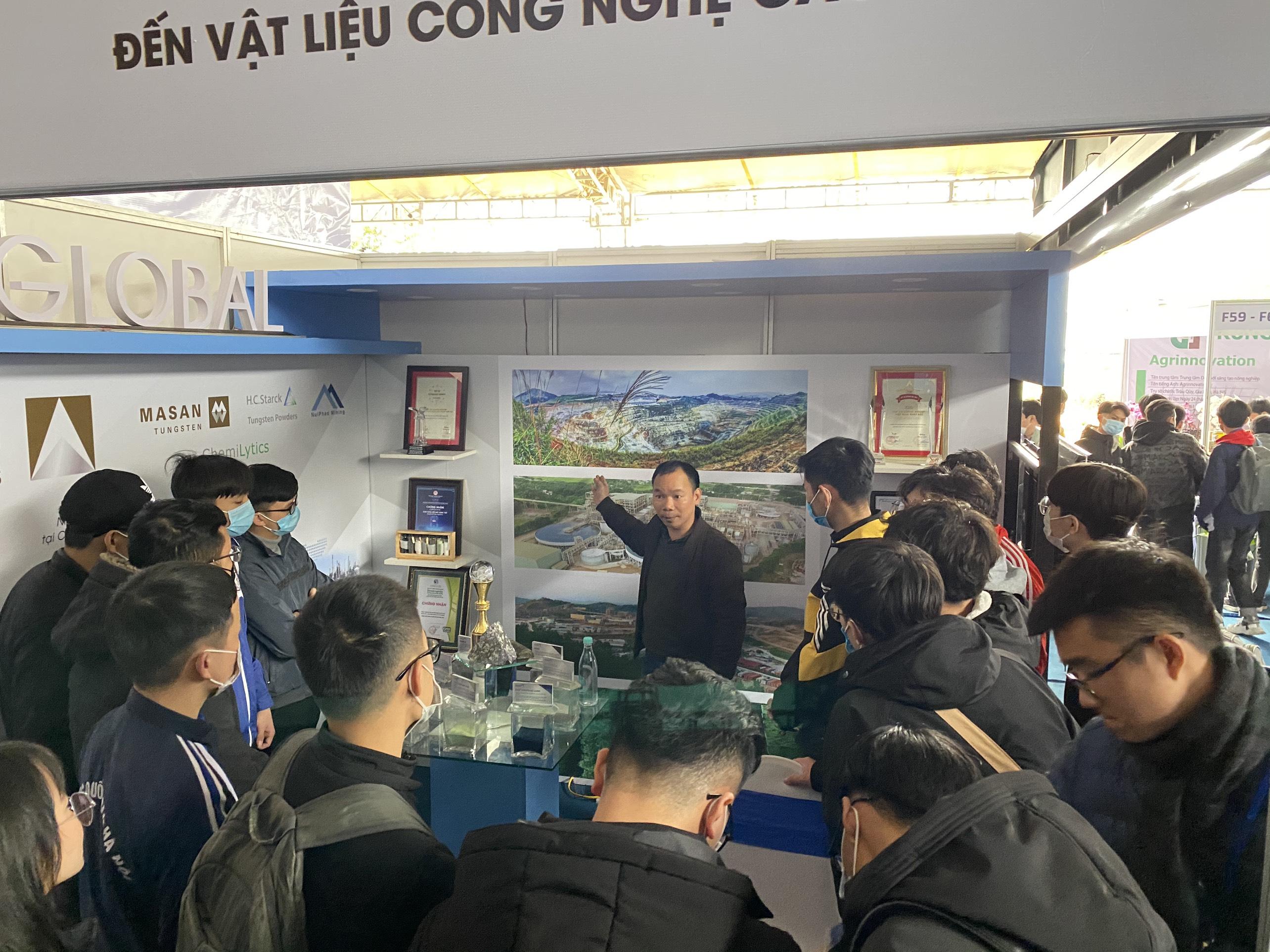 Dấu ấn của Masan High-Tech Materials tại Triển lãm Quốc tế Đổi mới Sáng tạo Việt Nam 2021 1