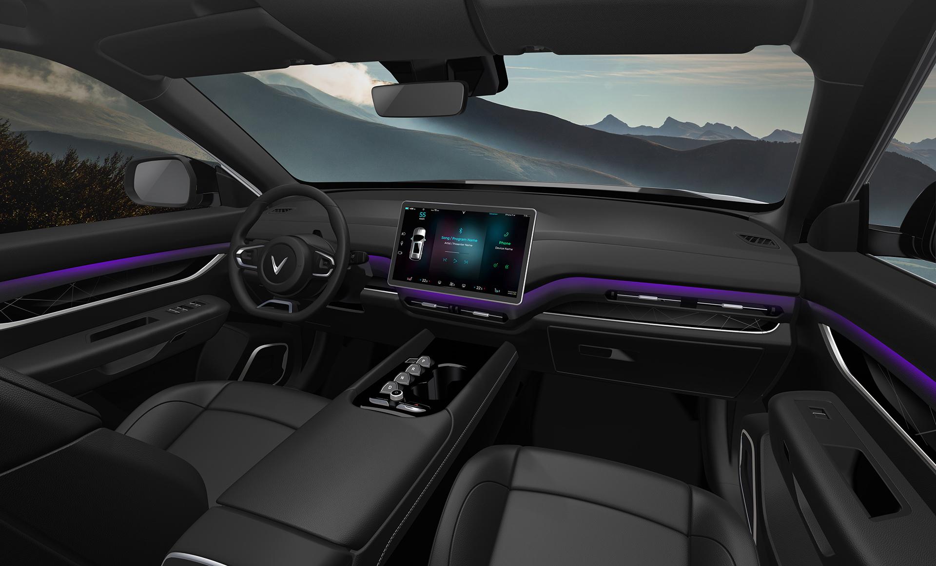 VinFast ra mắt 3 dòng ô tô điện tự lái - Khẳng định tầm nhìn trở thành hãng xe điện thông minh toàn cầu 12