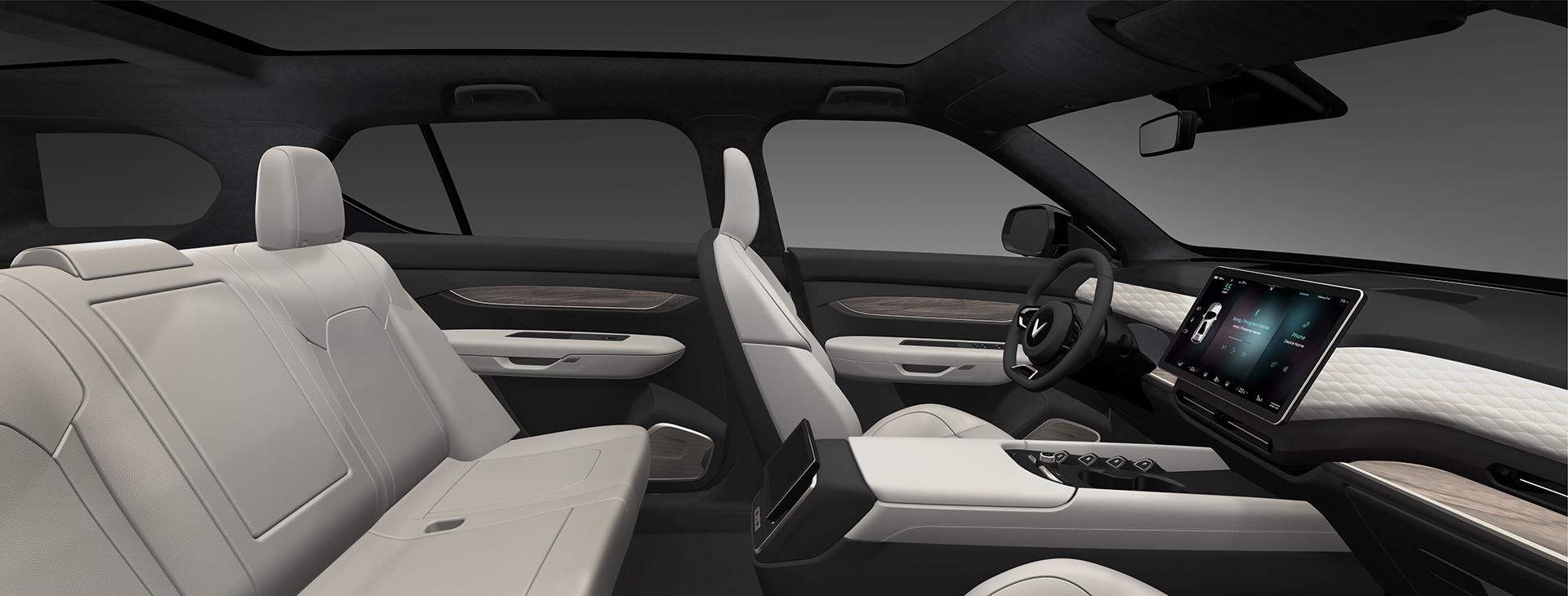 VinFast ra mắt 3 dòng ô tô điện tự lái - Khẳng định tầm nhìn trở thành hãng xe điện thông minh toàn cầu 9