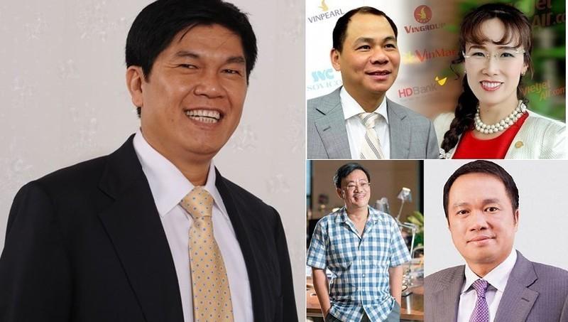 5 tỷ phú giàu nhất sàn chứng khoán Việt 2020. Ảnh: VTCNews