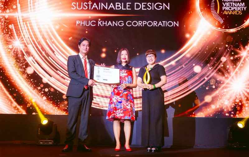 Phúc Khang được vinh danh tại giải thưởng BĐS Việt Nam PropertyGuru Vietnam Property Awards 2020 2
