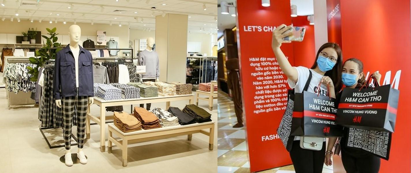 """Cửa hàng H&M """"xanh"""" đầu tiên ở Việt Nam đã xuất hiện tại Vincom Plaza Hùng Vương, Cần Thơ"""