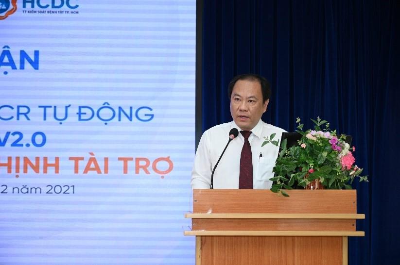Tập đoàn Hưng Thịnh trao tặng hệ thống máy xét nghiệm tự động trị giá gần 5,3 tỷ đồng cho Trung tâm kiểm soát bệnh tật TP.HCM 2