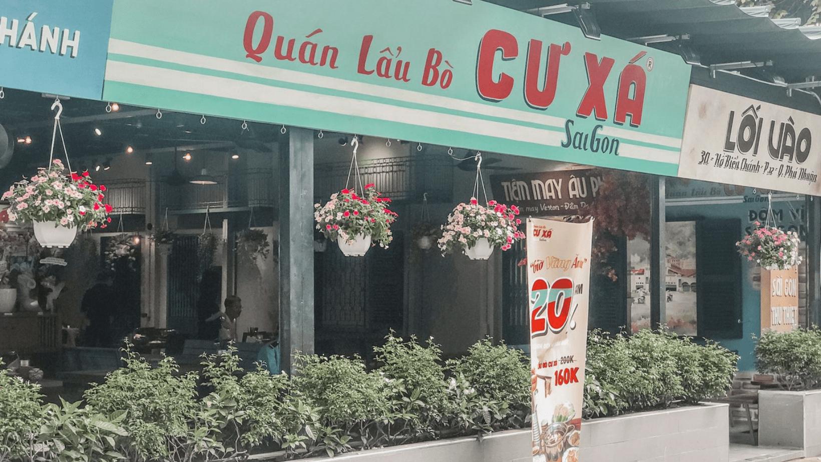 """Lẩu bò Cư Xá """"ngon từ thịt, ngọt từ xương"""" đậm chất retro ở Sài Gòn 7"""