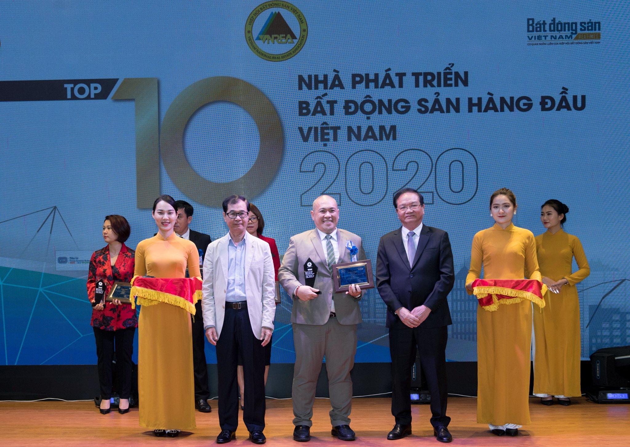 Hưng Thịnh Land khẳng định vị thế trong Top 10 nhà phát triển Bất Động Sản hàng đầu Việt Nam 2020 1