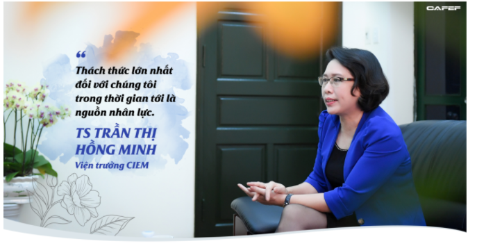 Tiến sĩ 3 con từng 3 năm chỉ ngủ 2 tiếng/đêm trở thành nữ viện trưởng đầu tiên của CIEM 11