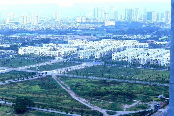 Tập đoàn Bitexco từng bán chui 552 căn biệt thự khi chưa có DDTM. Ảnh: Minh Phúc.