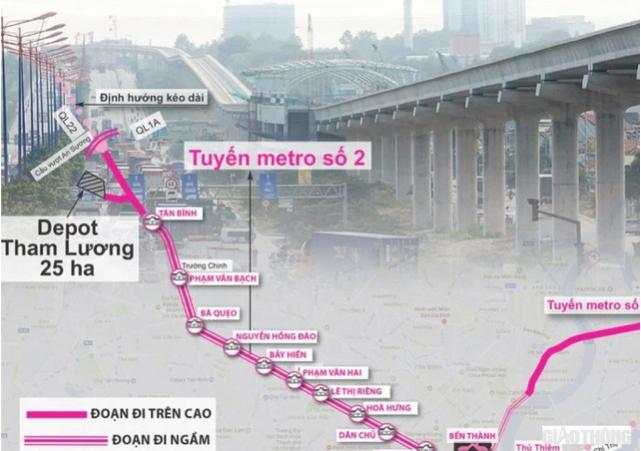 Dự kiến Metro số 2 sẽ khởi công vào giữa năm 2022 6