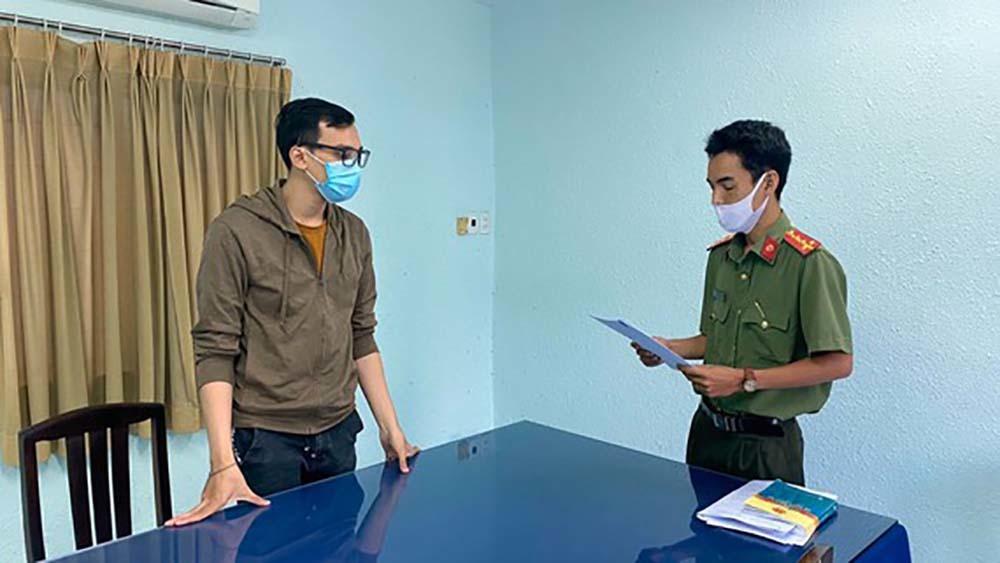 Dương Tấn Hậu bị đề nghị truy tố vì làm lây lan dịch bệnh Covid-19 ra cộng đông.