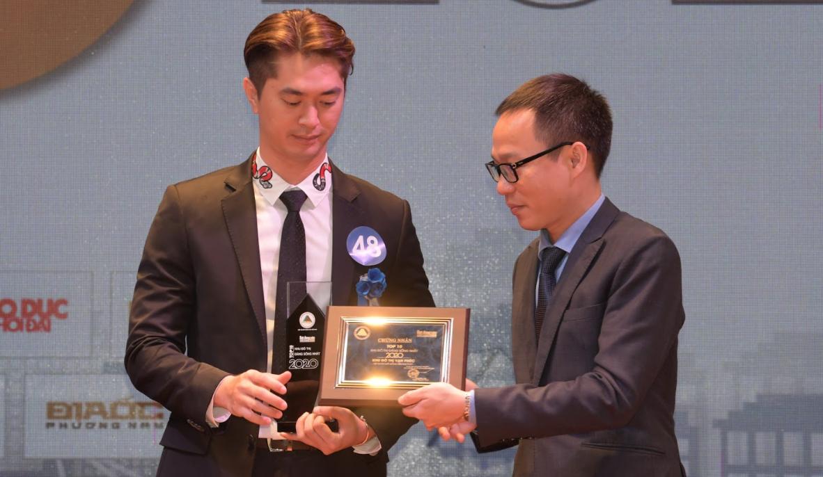 Van Phuc City nhận danh hiệu Top 10 Khu đô thị đáng sống nhất năm 2020 6