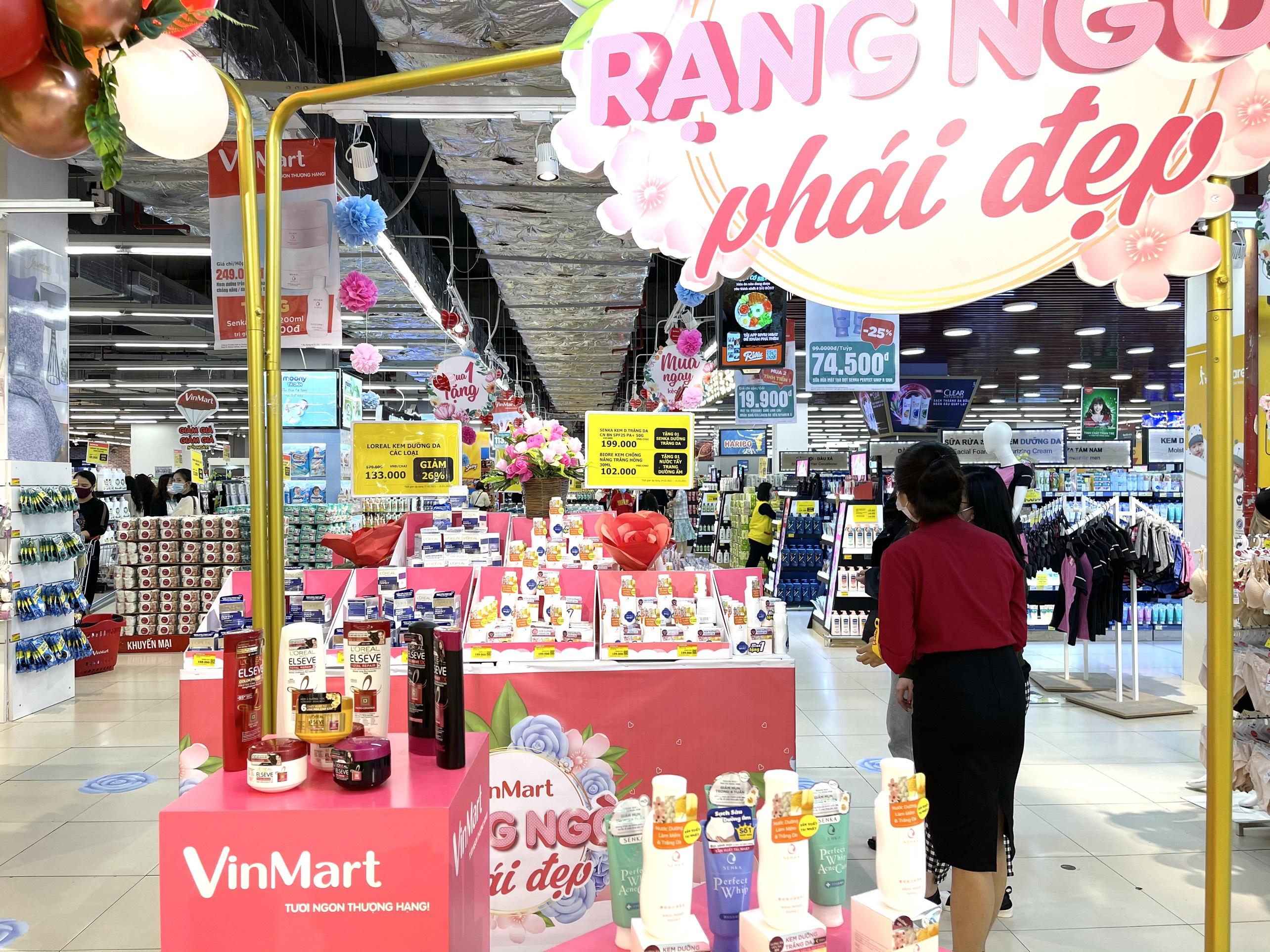 VinMart/VinMart+ khuyến mãi khủng lên đến 50% hàng trăm sản phẩm làm đẹp trong dịp 8/3 4