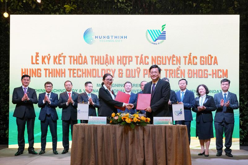 Tập đoàn Hưng Thịnh và Đại học Quốc Gia TP.HCM ký kết hợp tác chiến lược 3