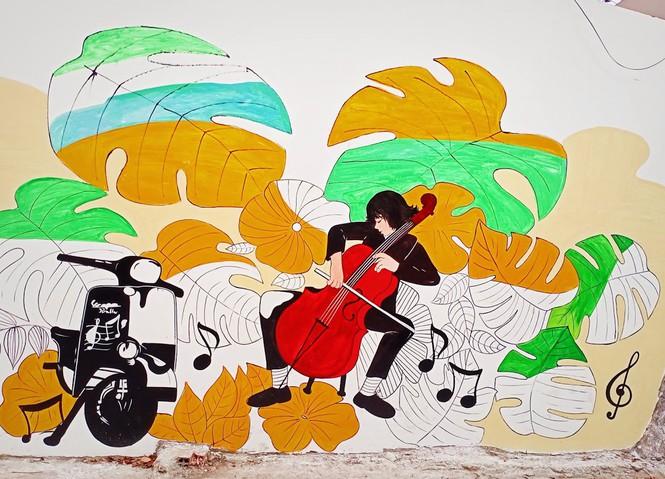 Vũng Tàu: Mời bạn chiêm ngưỡng đường tranh bích họa độc đáo ngay sát bờ biển 13