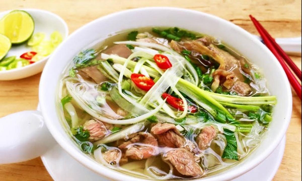 Phở - Gói văn hóa Việt vươn tầm thế giới 1