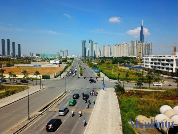 Hạ tầng giao thông đang mở lối cho bất động sản vùng TP.HCM mở rộng 7
