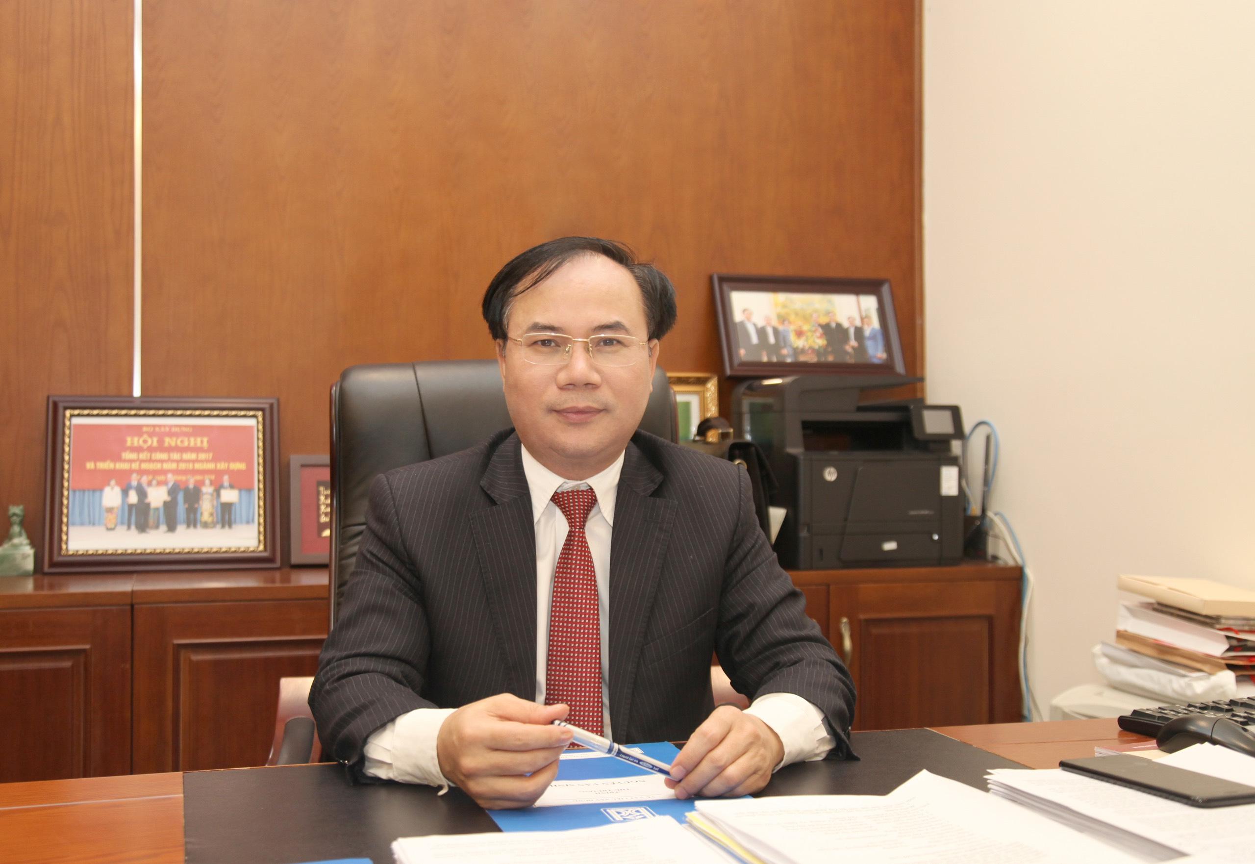 Thứ trưởng Bộ Xây dựng Nguyễn Văn Sinh. Ảnh:VGP