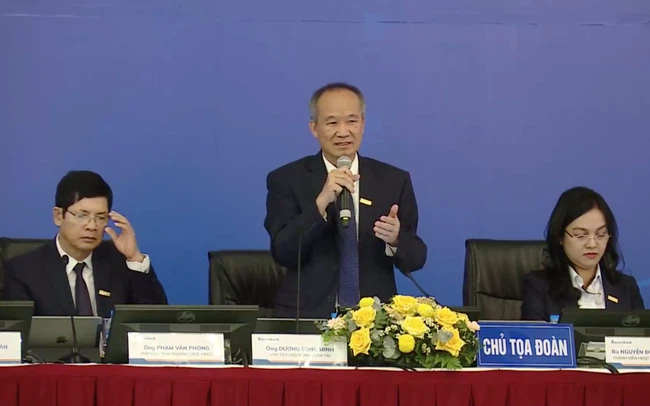 Ông Dương Công Minh: LPB là con đẻ của tôi và tôi đã cho đi, STB là con dâu và con dâu lúc nào cũng quý hơn, toàn bộ công việc của tôi giờ đây đều tập trung cho Sacombank 1