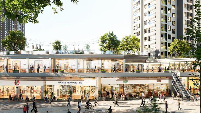 Triển khai đại trung tâm thương mại trên mặt nước tiên phong ở Việt Nam 4