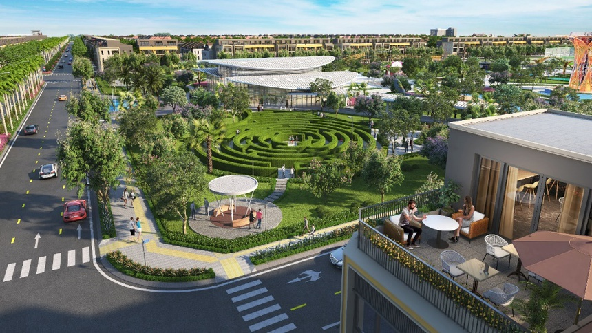 Gem Sky World sắp khánh thành công viên giải trí lớn tại Long Thành 4