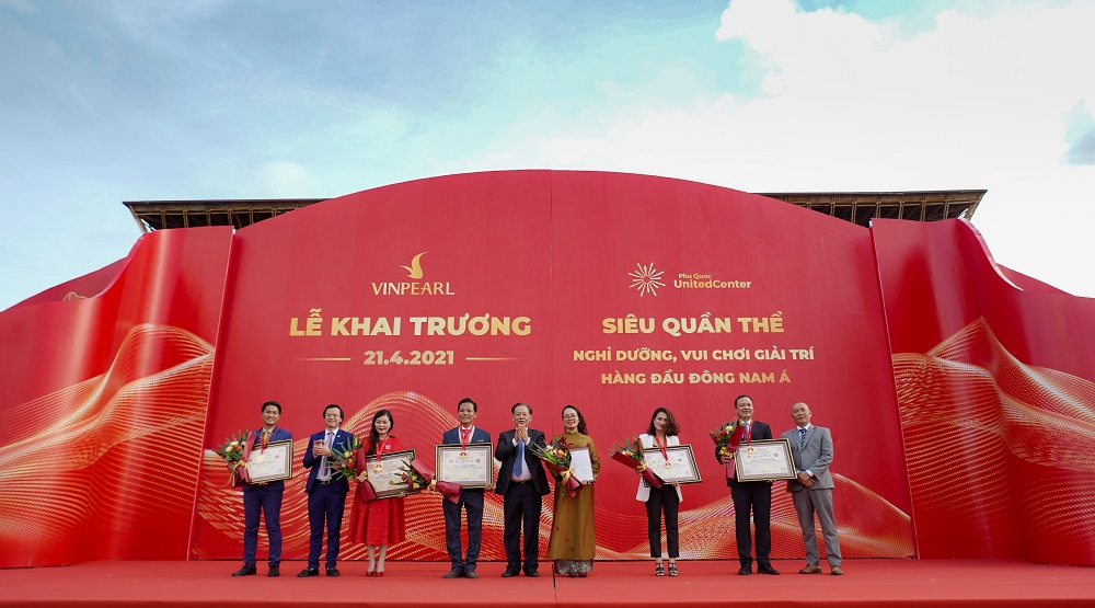 Vingroup khai trương Siêu quần thể nghỉ dưỡng, vui chơi, giải trí hàng đầu Đông Nam Á - Phú Quốc United Center 1
