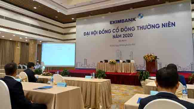 ĐHĐCĐ Eximbank lại bất thành do không đủ điều kiện tiến hành 3