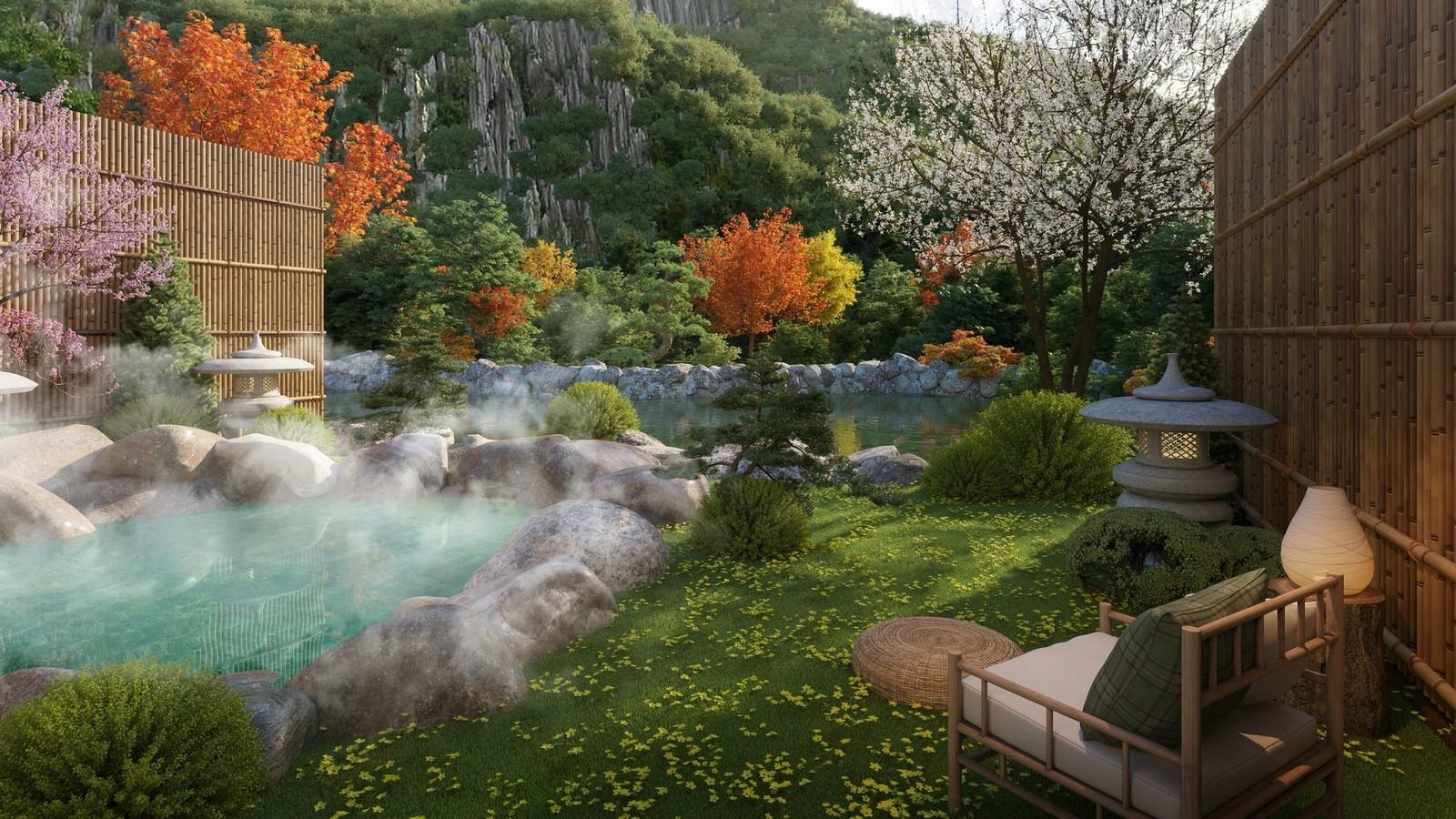 Suối khoáng nóng Quang Hanh - tâm điểm nghỉ dưỡng phía Bắc của giới thượng lưu 11