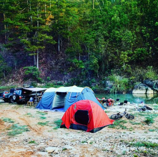Du lịch cắm trại dã ngoại lên ngôi 1