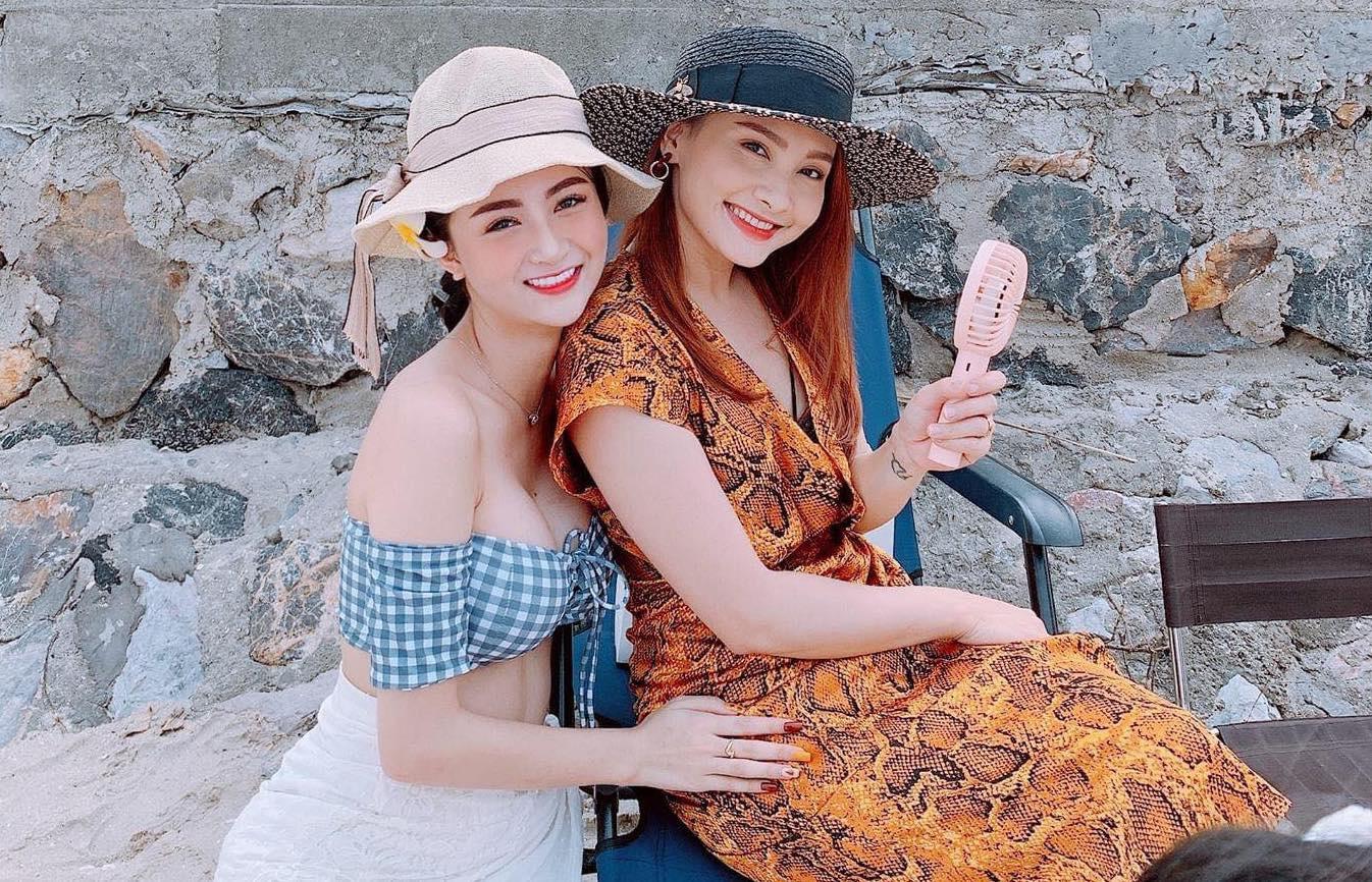 Nhan sắc quyến rũ của nữ diễn viên từng thi Hoa hậu Việt Nam Thư Vũ 3